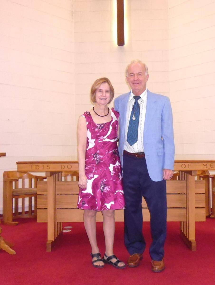 The Rev Ken & Joan Smith, from the USA