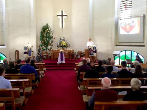 Christmas Eve Holy Communion 2018