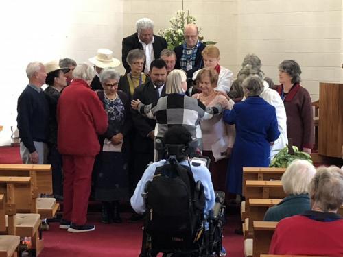 Elders Blessing of new Elders9th June 2019