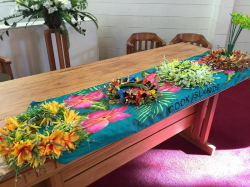 Floral Table