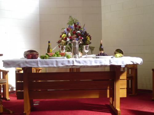 Easter Sunday Communion Table 2018